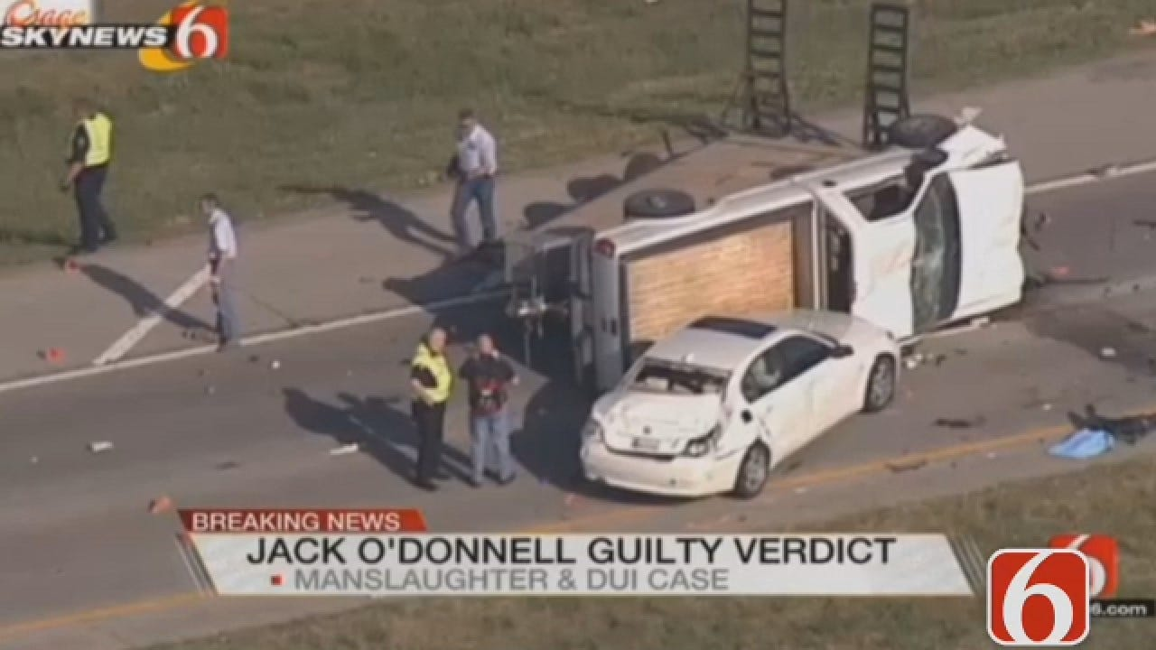 Dave Davis Reports On Sentencing For Owasso Man Convicted Of Manslaughter