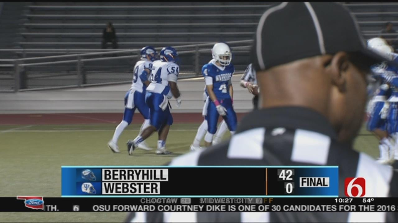 Week 6: Webster Suffers Shutout Loss To Berryhill