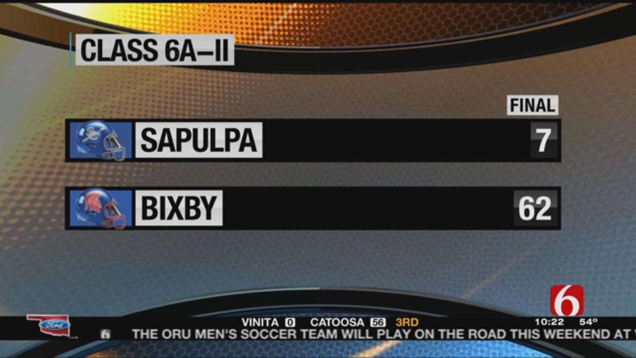 Bixby Sails Past Sapulpa In Week 6