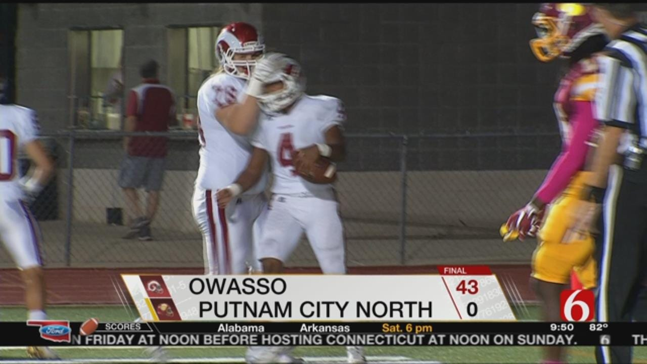 Owasso Shuts Out Putnam City North In Week 6