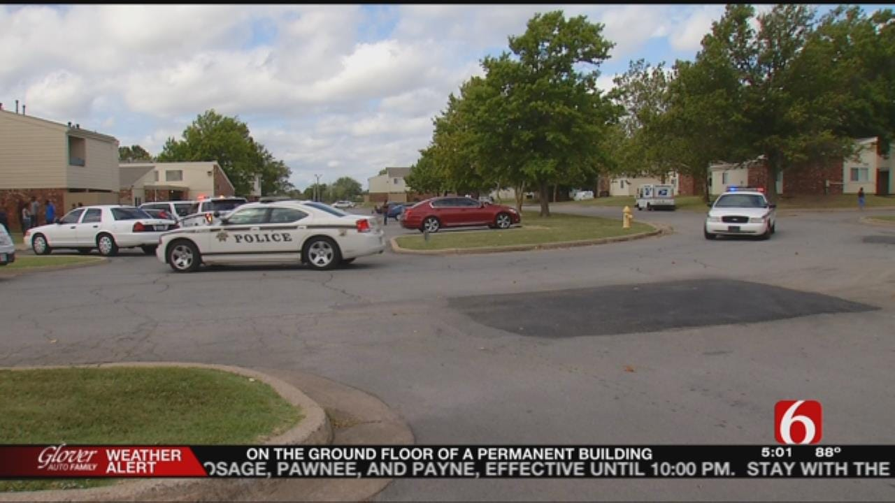 Tulsa Police: Neighbors Loot Home Invasion Suspect's Apartment
