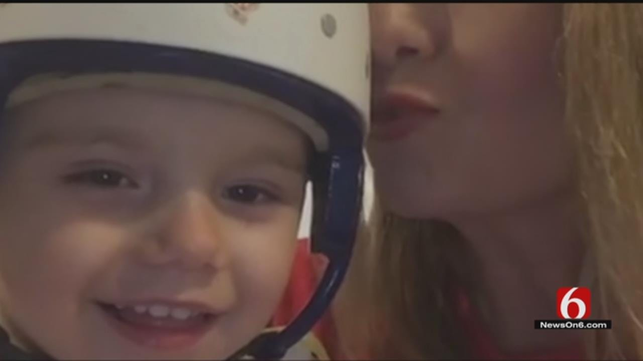 Muskogee Toddler Recovering After Doctors Reattach Part Of Skull