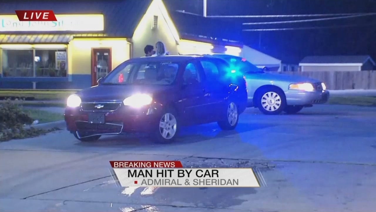 Woman Driving Kids To School Hits Tulsa Pedestrian