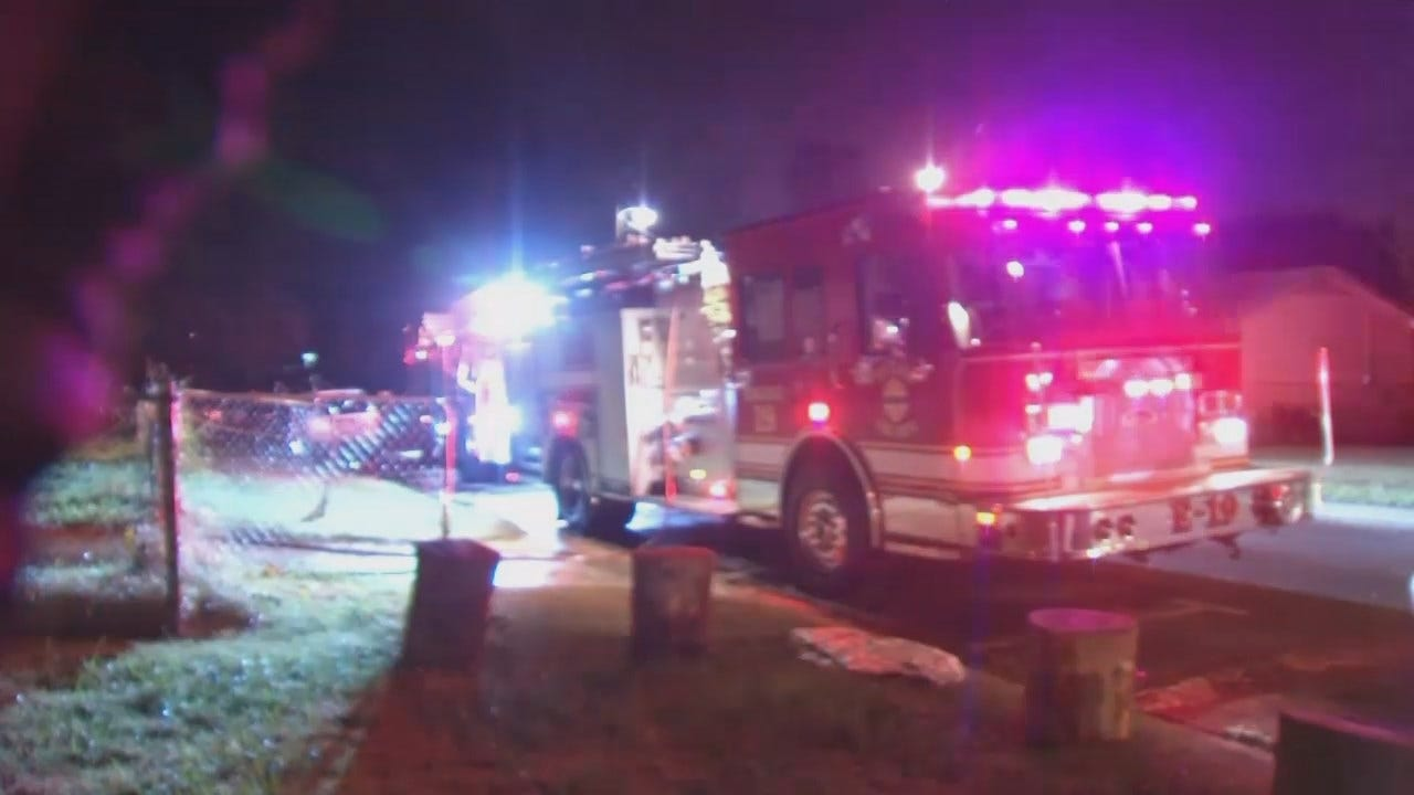 Two Overnight Tulsa Fires Called Arson