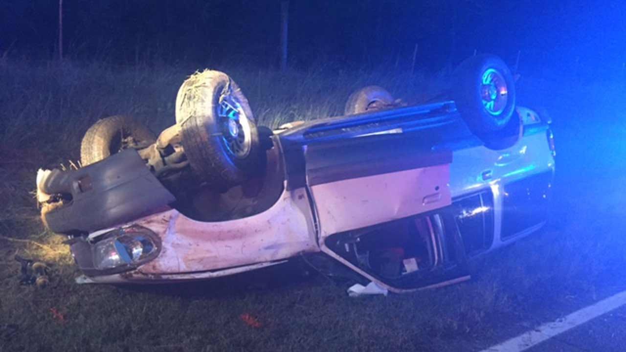 Driver Killed In Rollover Wreck Near Foyil