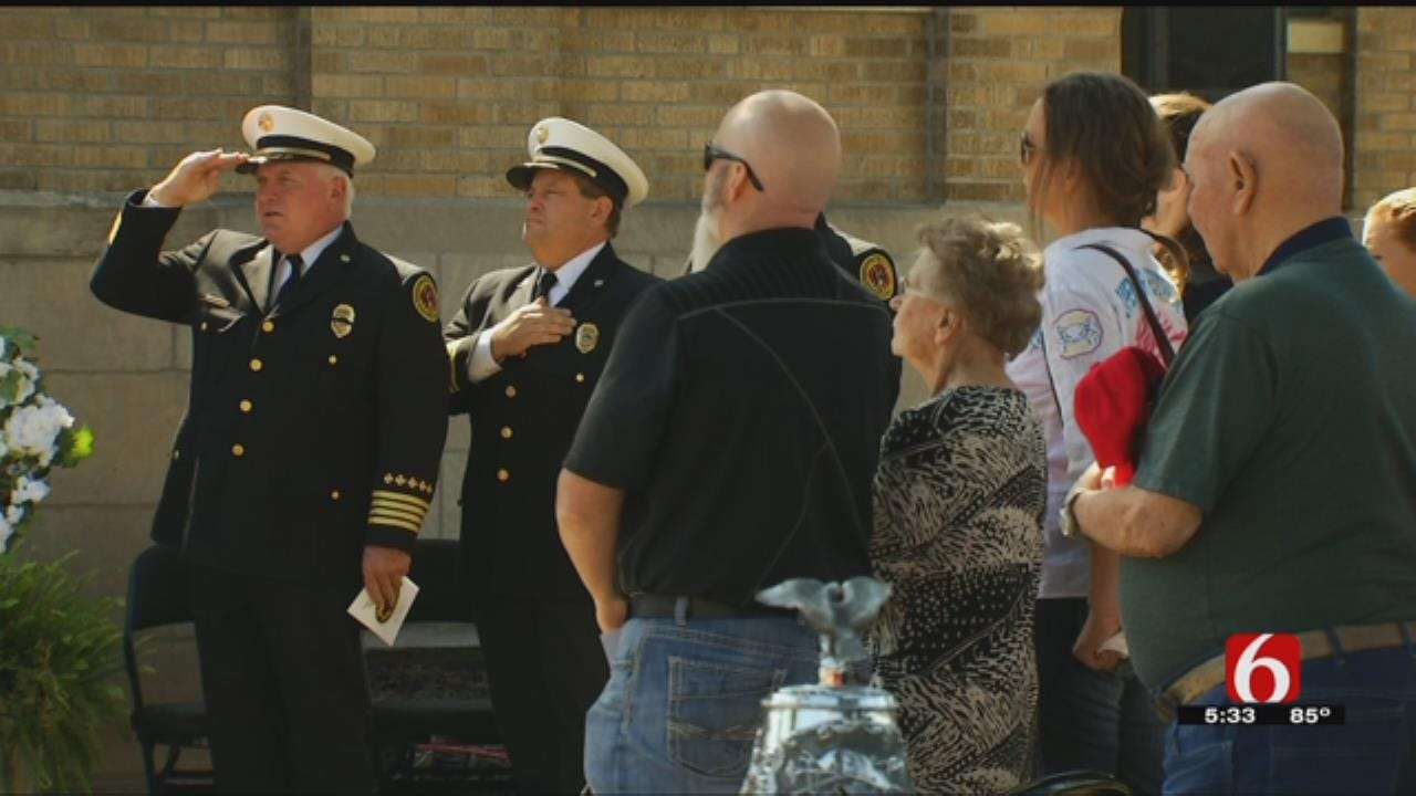 TFD Honors Fallen Firefighters