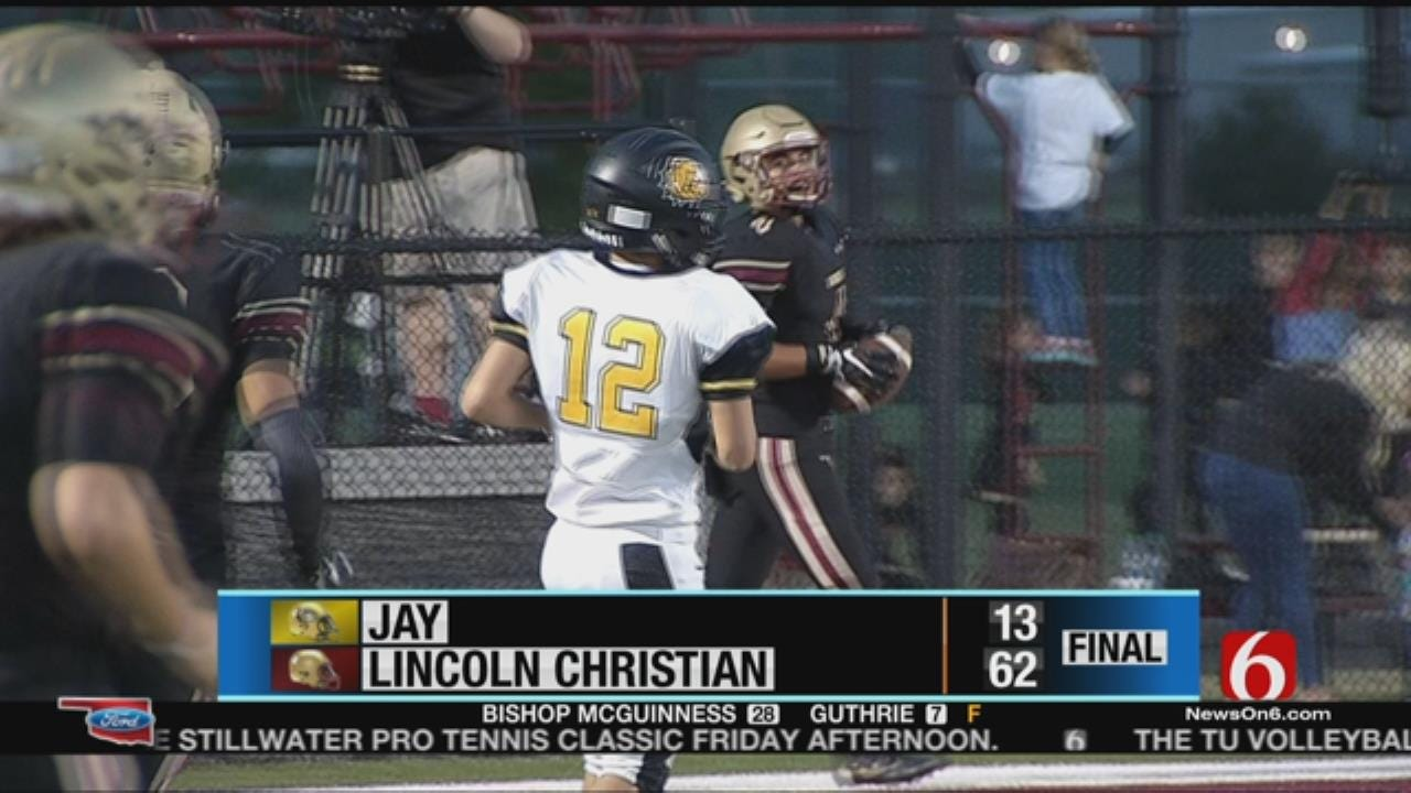 Lincoln Christian Snags Week 5 Win Over Jay
