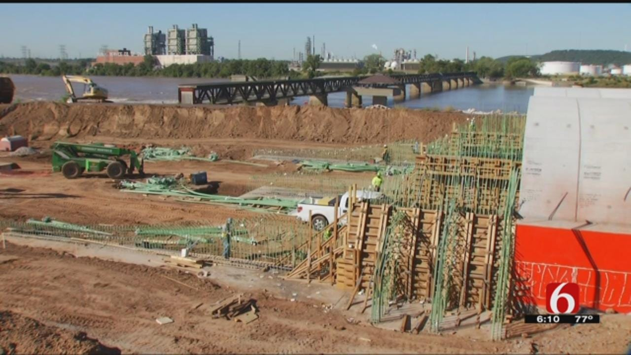Tulsa's A Gathering Place Construction Update