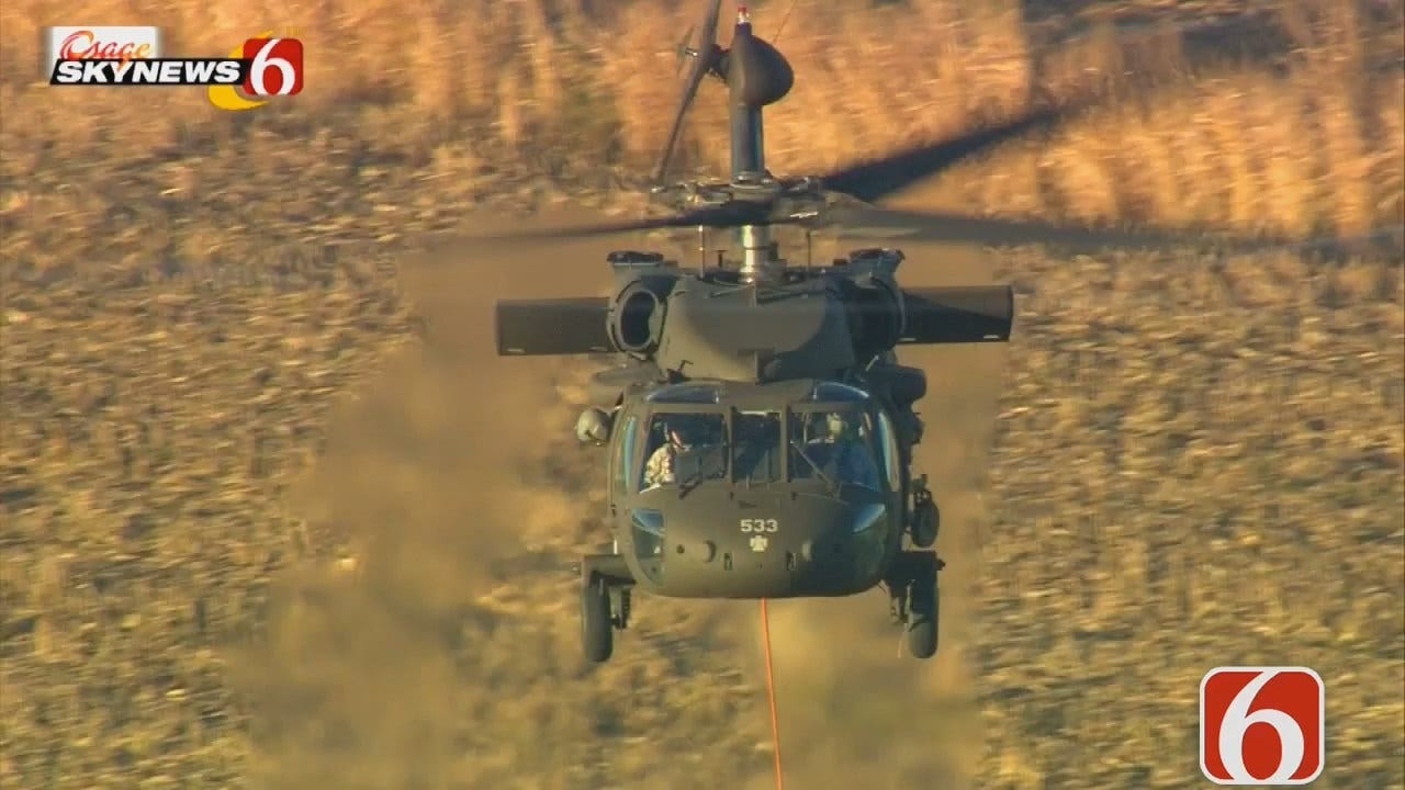 Will Kavanagh: Tulsa Black Hawk Helicopter On Special Training Mission