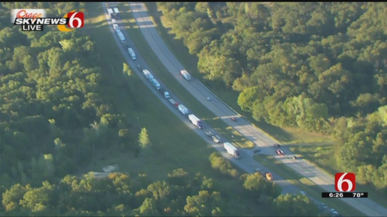 OHP: 3-Vehicle Fatal Crash Closes Highway 75 North Of Okmulgee