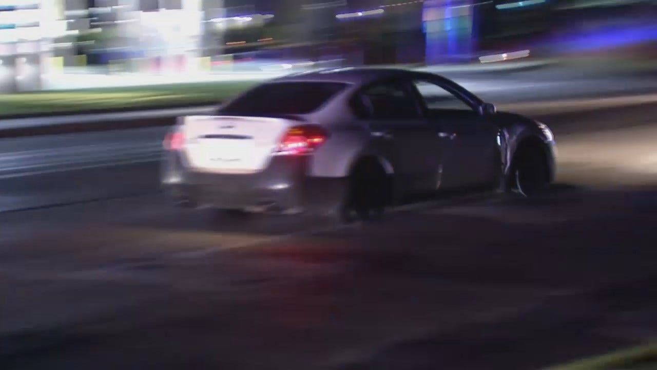 WEB EXTRA: Video From Stolen Car Police Chase