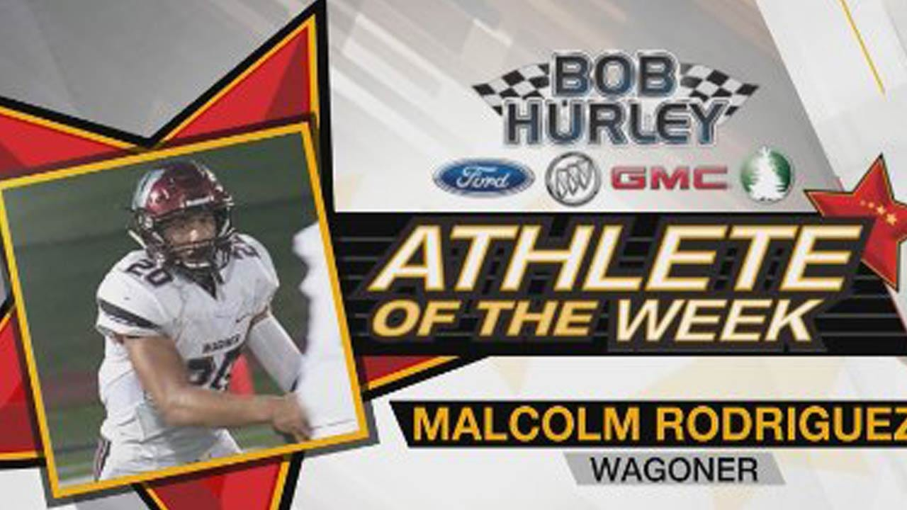 Week 4 Athlete Of The Week: Wagoner's Malcolm Rodriguez