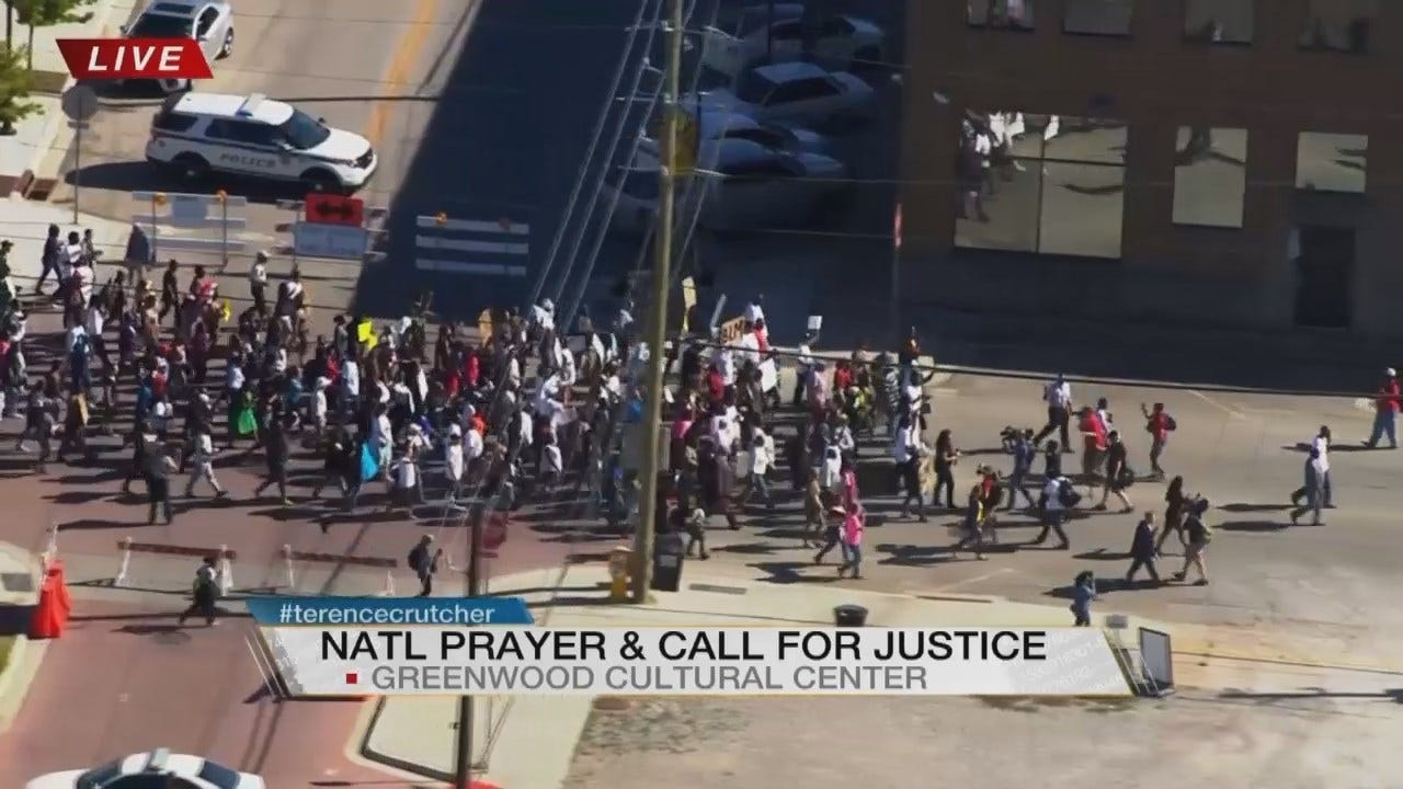 WEB EXTRA: News On 6 Covers Call For Justice March