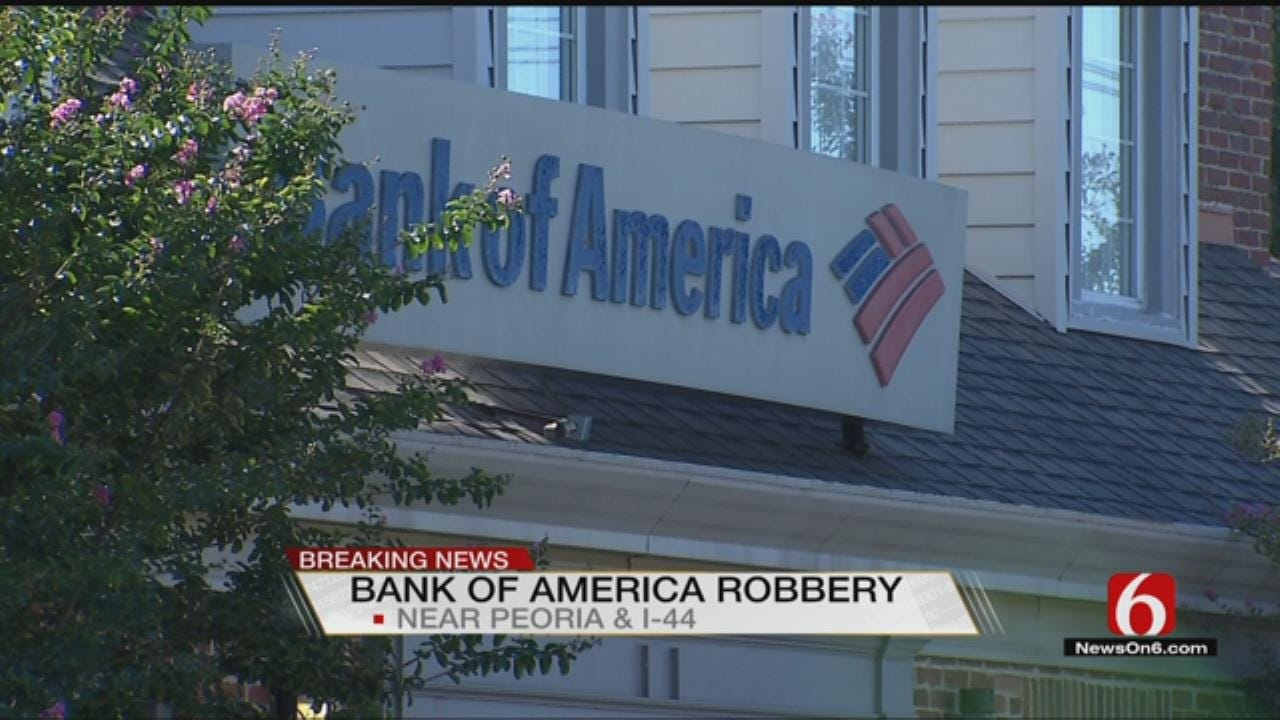 Two In Custody, Two More Sought After Tulsa Bank Robbery