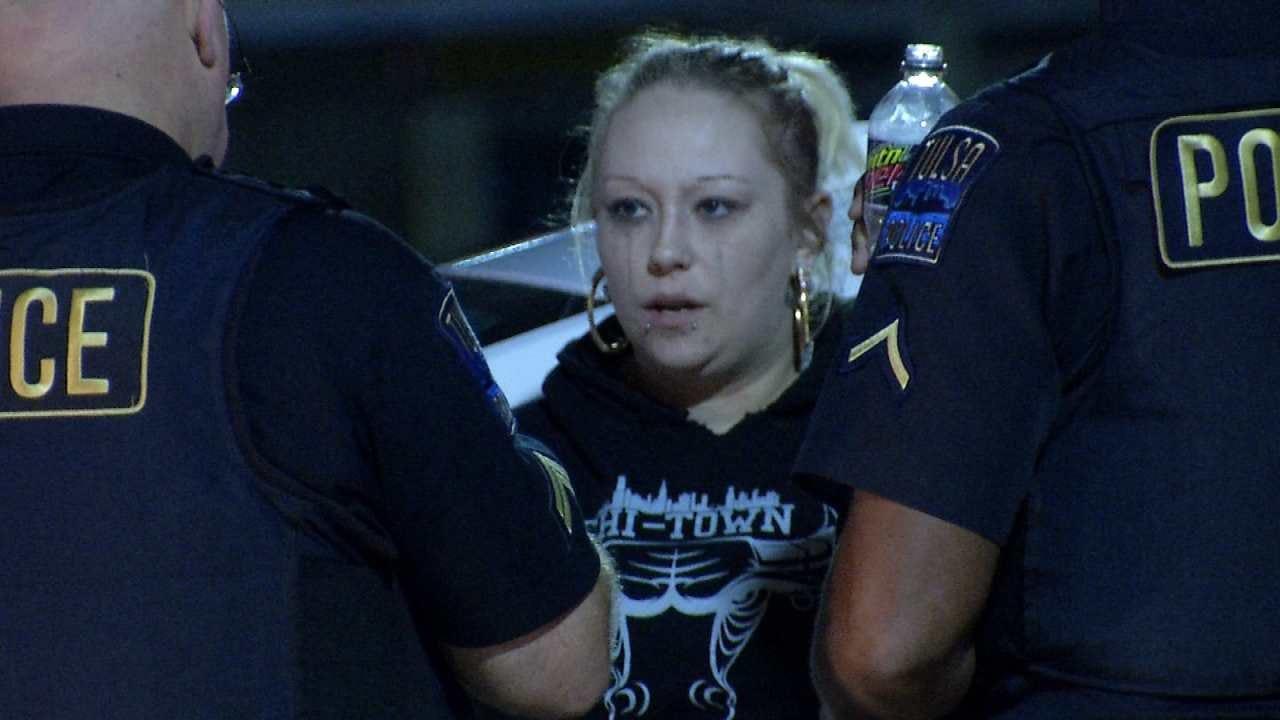 WEB EXTRA: Tulsa Woman Arrested On Drug, Firearm Complaints