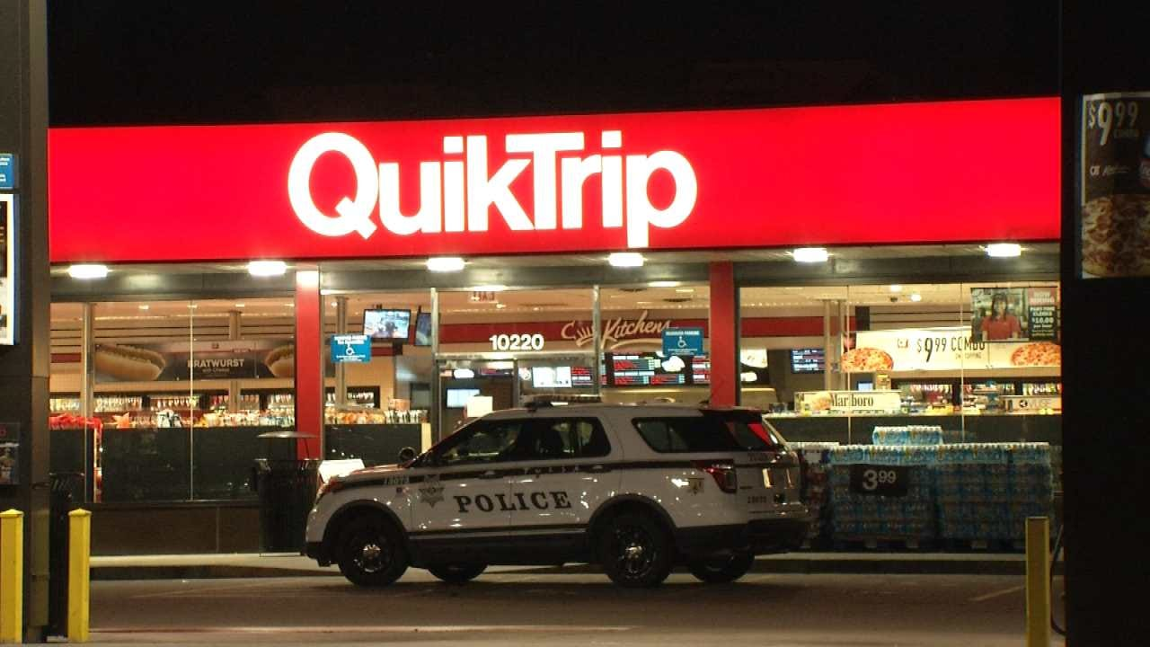 WEB EXTRA: Two Men Rob Tulsa QuikTrip With Knife, Tire Tool