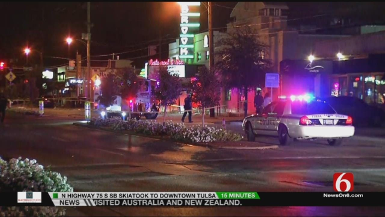 Tulsa Police Arrest Woman After Pedestrian Killed On Brookside