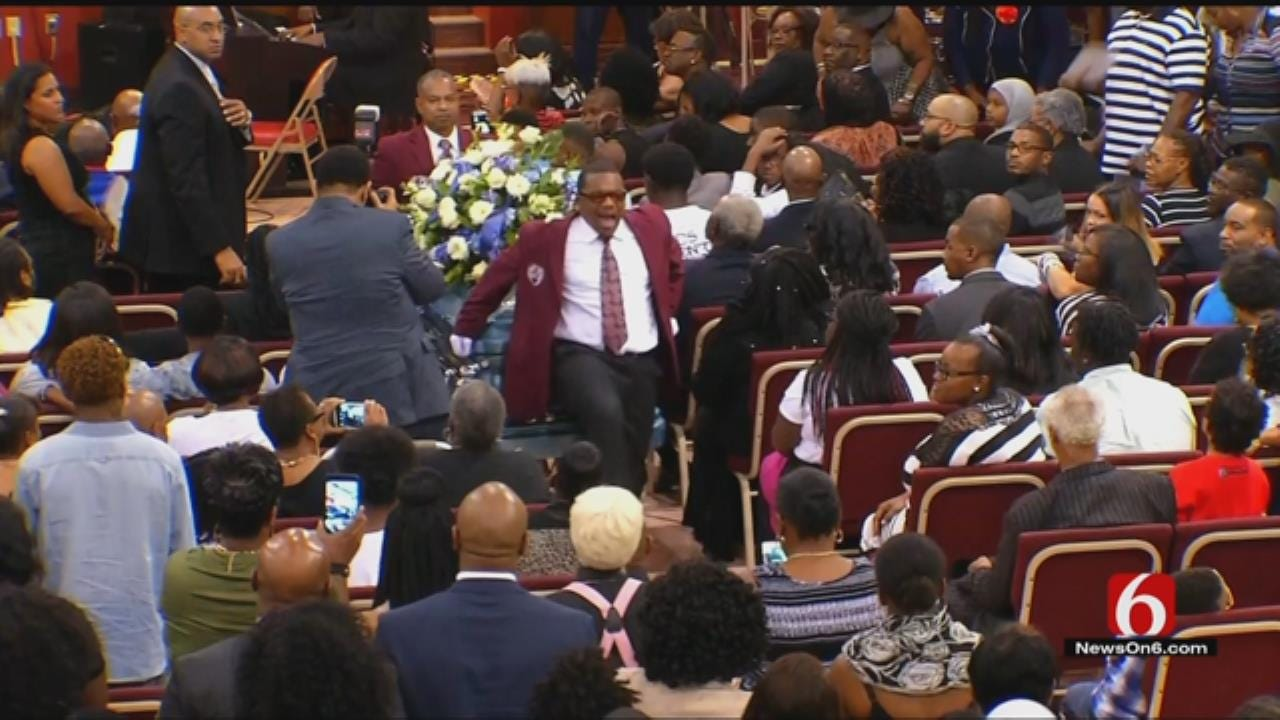 Funeral Service Celebrates The Life Of Terence Crutcher