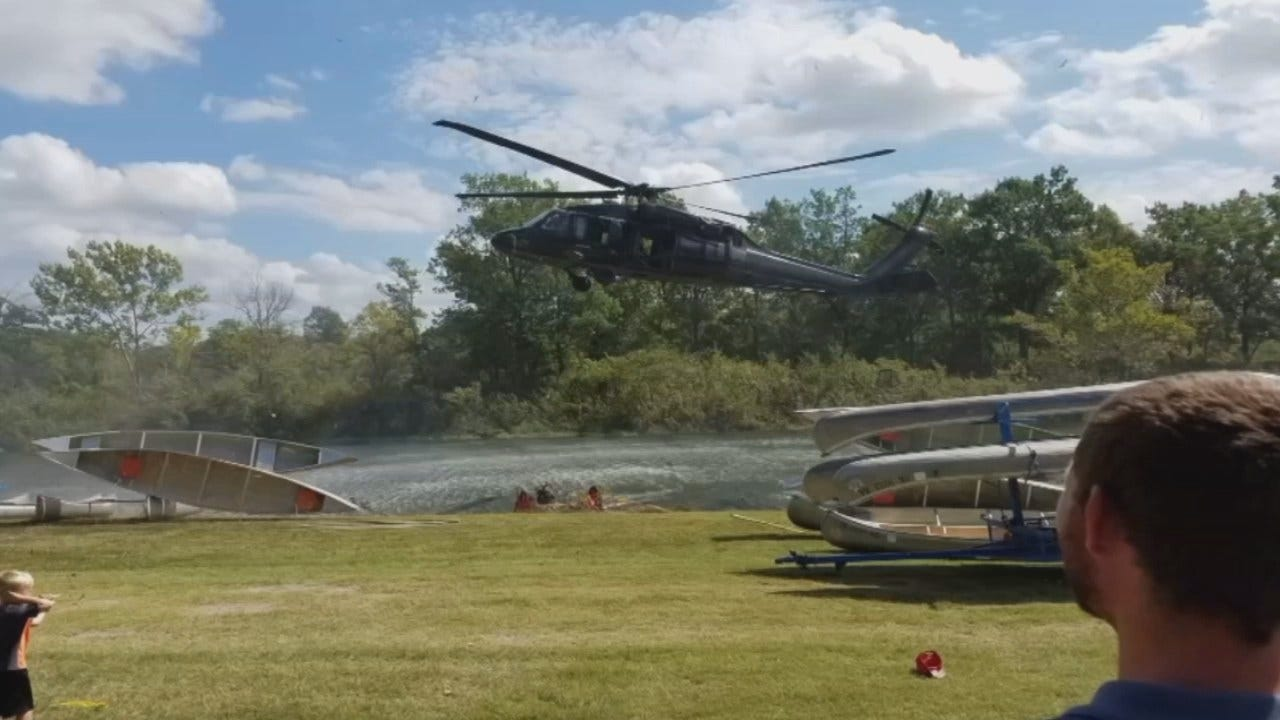 Several Hurt In Helicopter Mishap At Tulsa Boy Scout Event