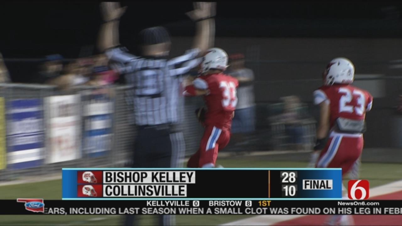 Bishop Kelley Conquers Collinsville In Week 4