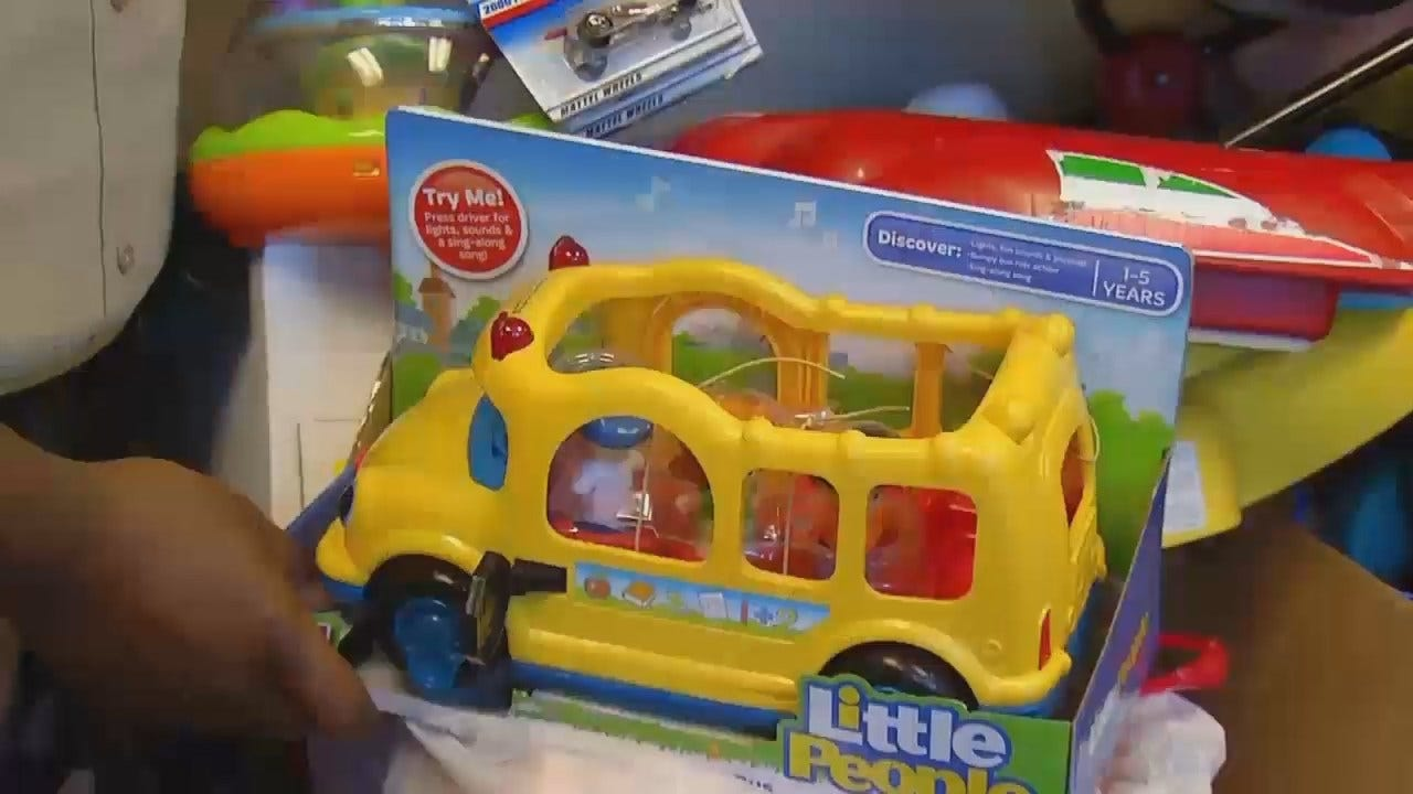 Deputies Collect Toys For Children Staying At Salvation Army's Center Of Hope