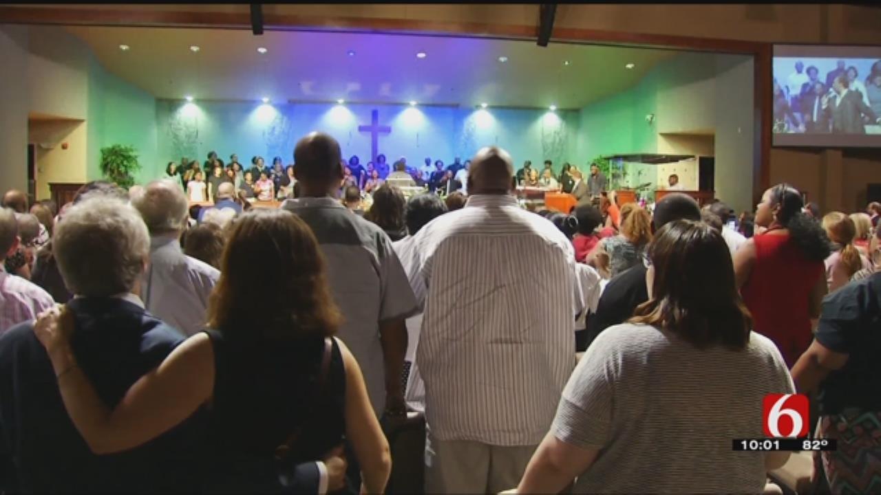 Tulsa Mayor, City Leaders Unite At Vigil For Justice