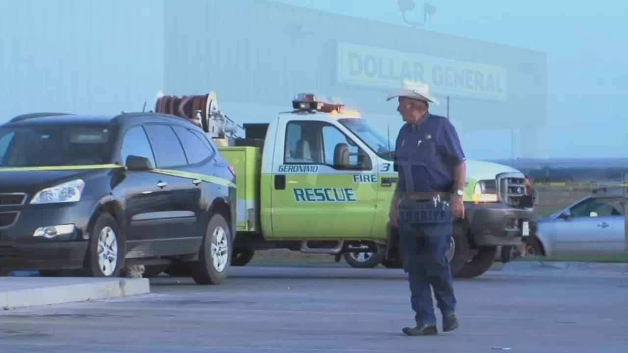 WEB EXTRA: Video From Scene Of Comanche County Baby Death