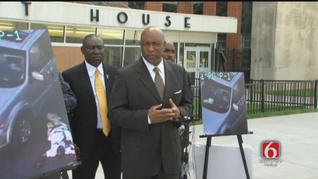 Terence Crutcher Family Attorneys Hold News Conference, Part 1