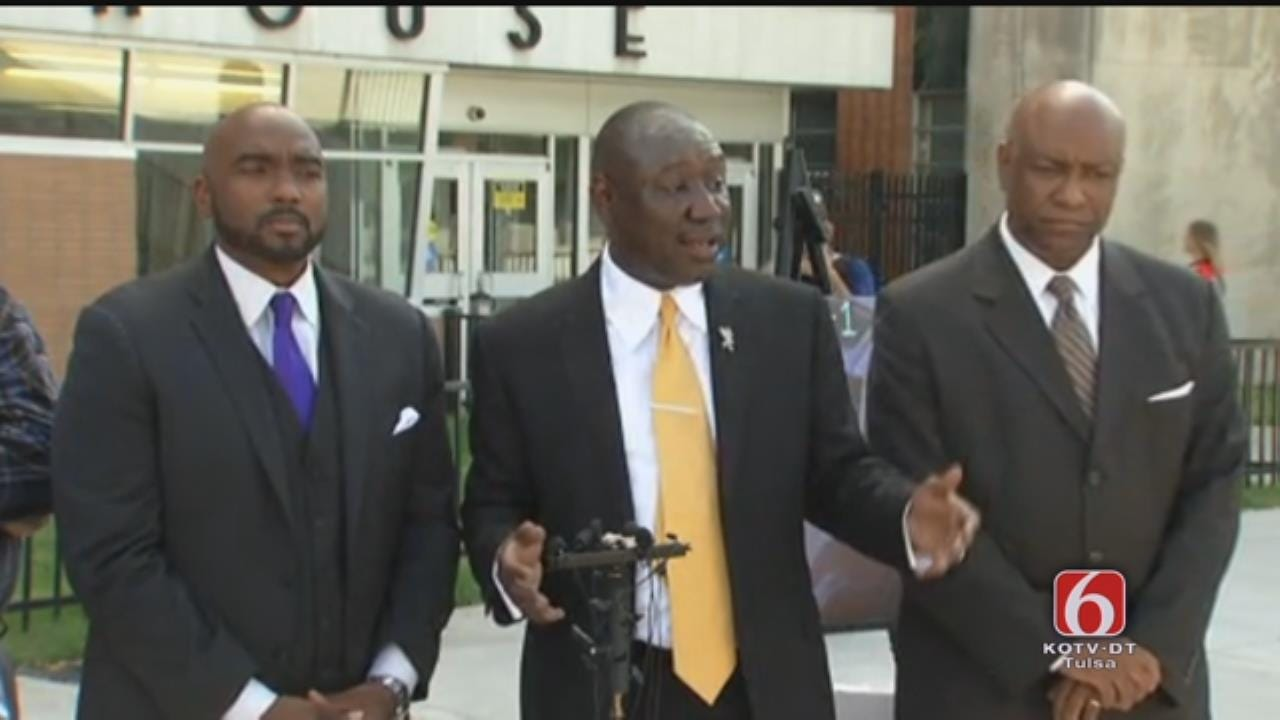 Attorneys For Terence Crutcher Speak To Media, Part 2