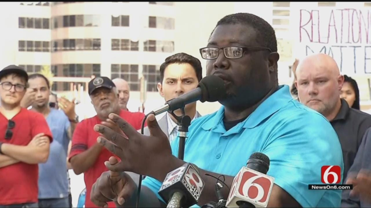 'We The People Oklahoma' Calls For Arrest Of TPD Officer