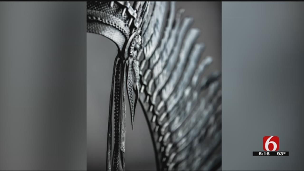 Tulsa Farrier, Blacksmith Make War Bonnet Out Of Steel