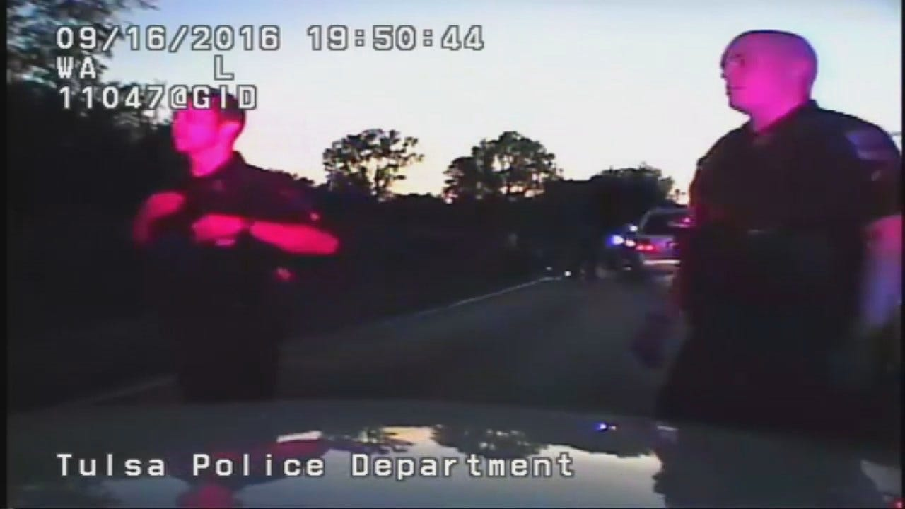 Tulsa Police Video From Officer Tyler Turnbough From Terence Crutcher Shooting Scene