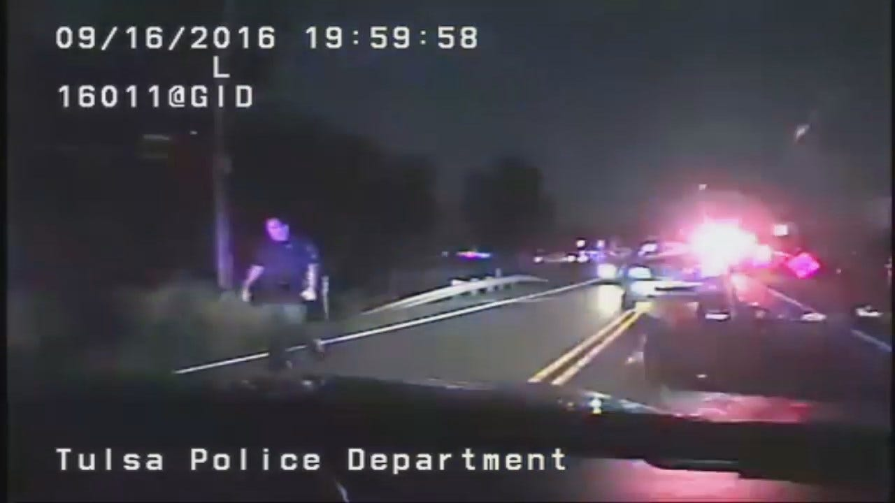 Tulsa Police Officer S. Dunn Video From Terence Crutcher Shooting