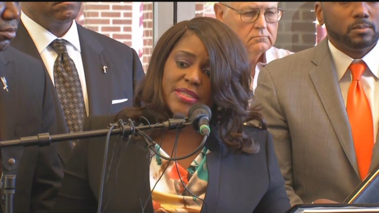 WEB EXTRA: Tiffany Crutcher, Sister Of Terrence, Addresses Media