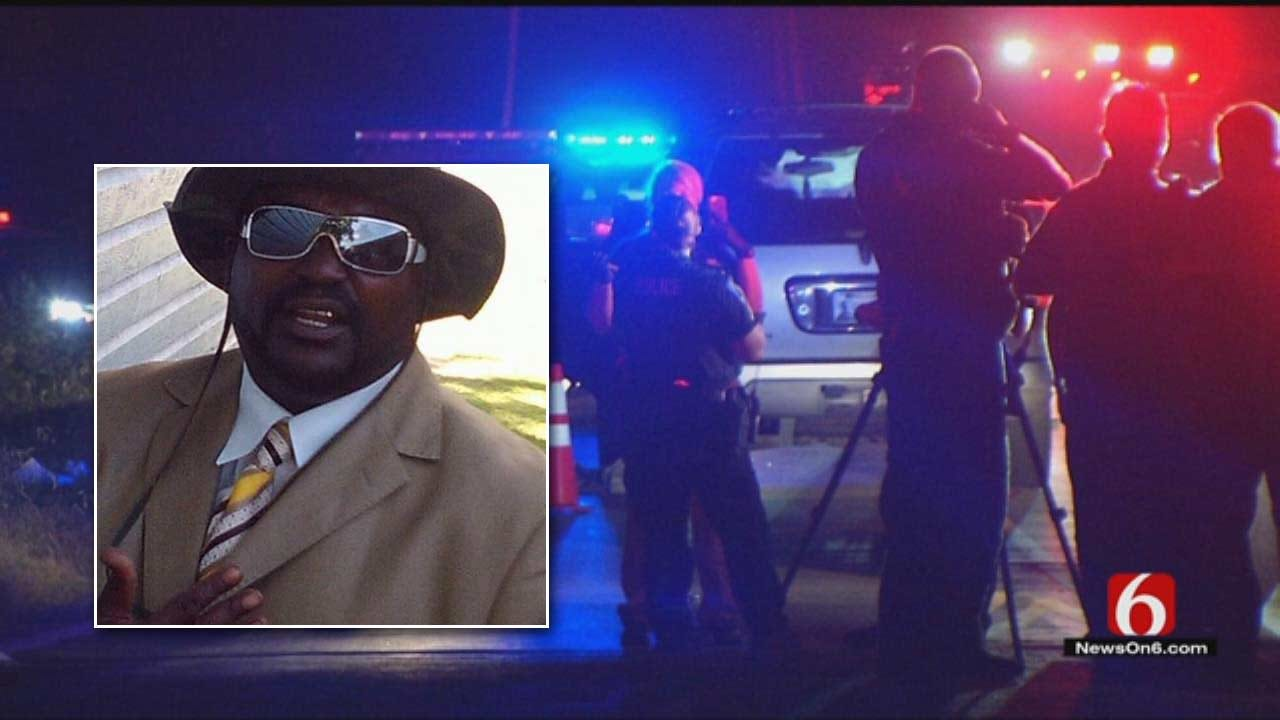 Dave Davis Reports On Terrence Crutcher Shooting Protest
