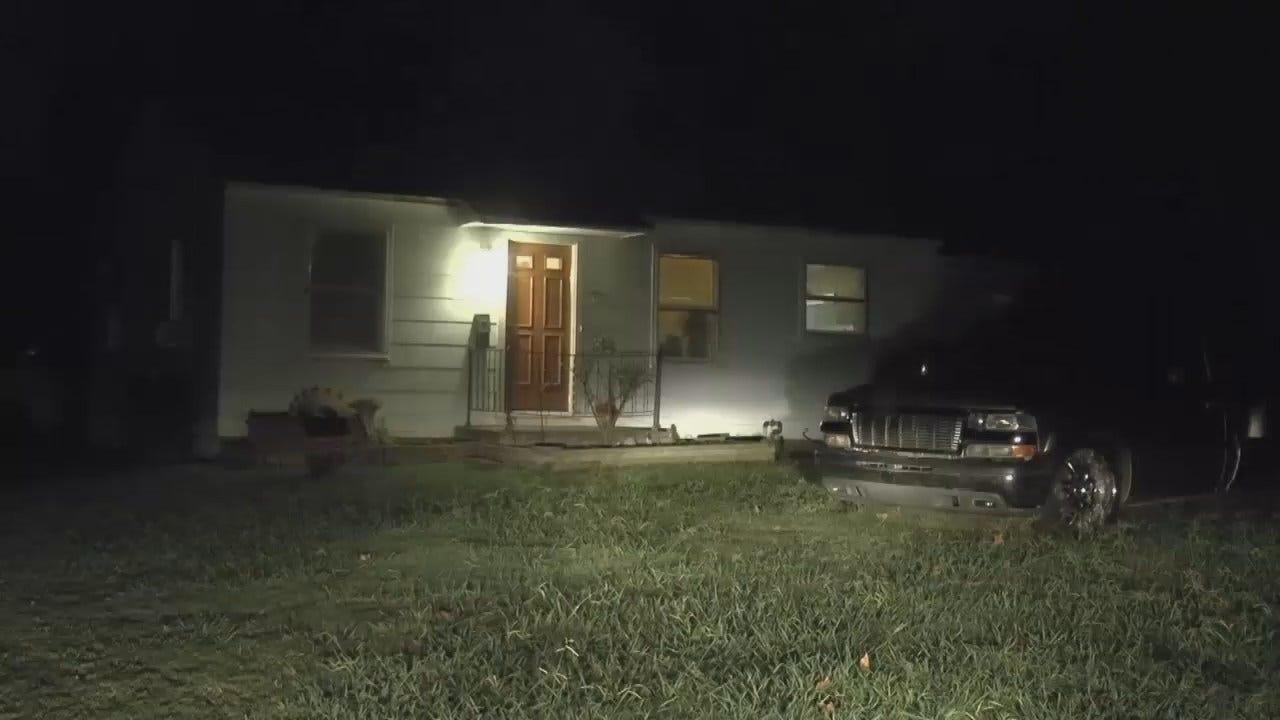 WEB EXTRA: Tulsa Homeowner Attacked With Bats, Knives