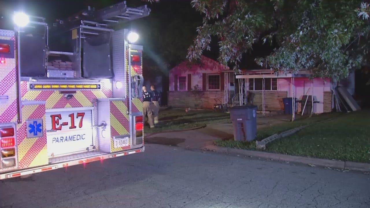 Tulsa Woman Burned In Kitchen Fire