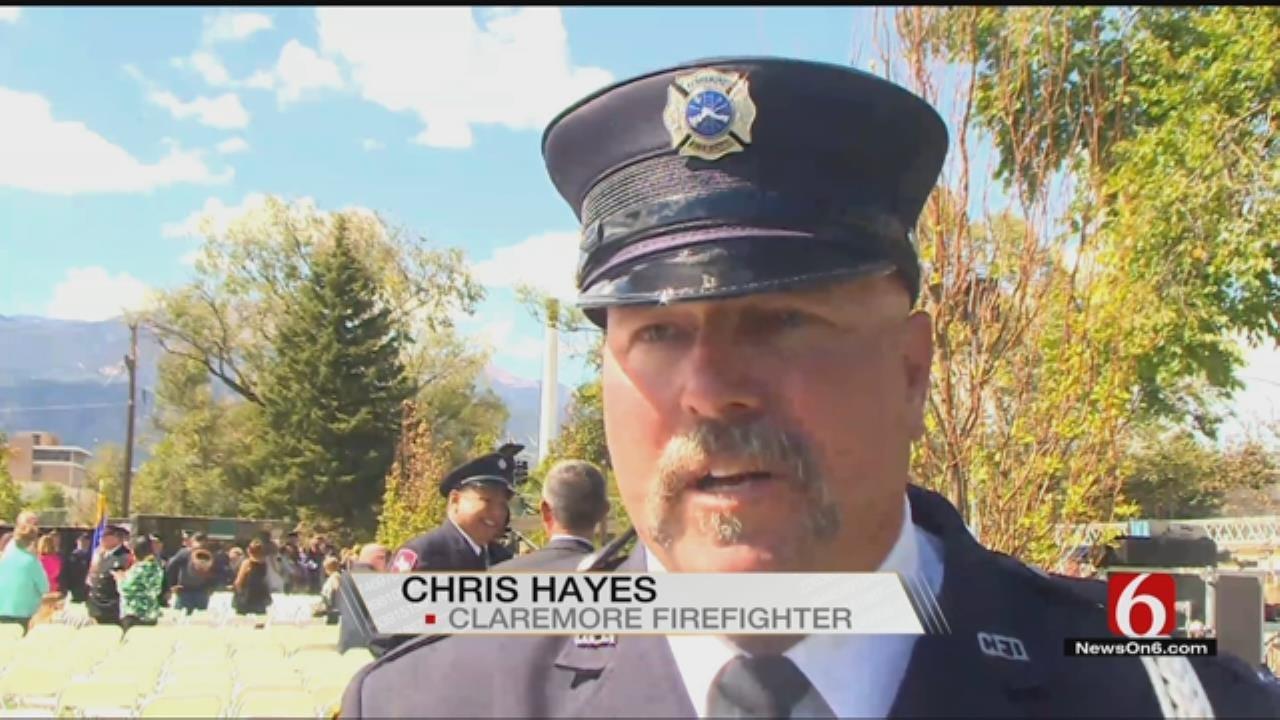 Fallen Claremore Firefighter Honored By International Association