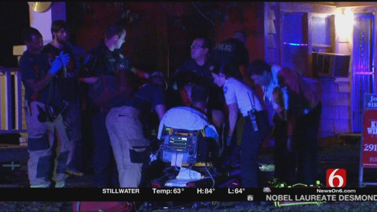 Tulsa Man Shot Twice During Fight