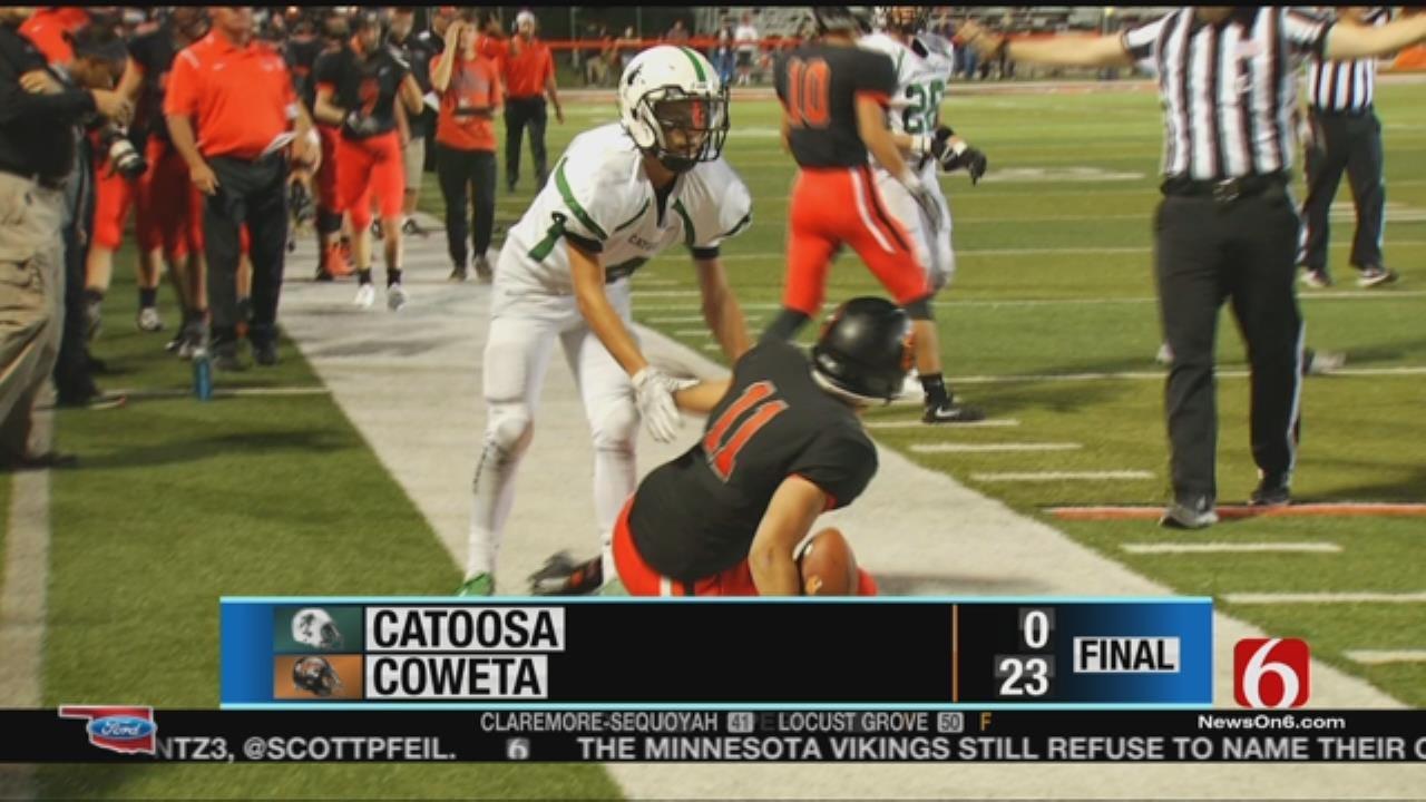 Coweta Knocks Off Catoosa In Week 3