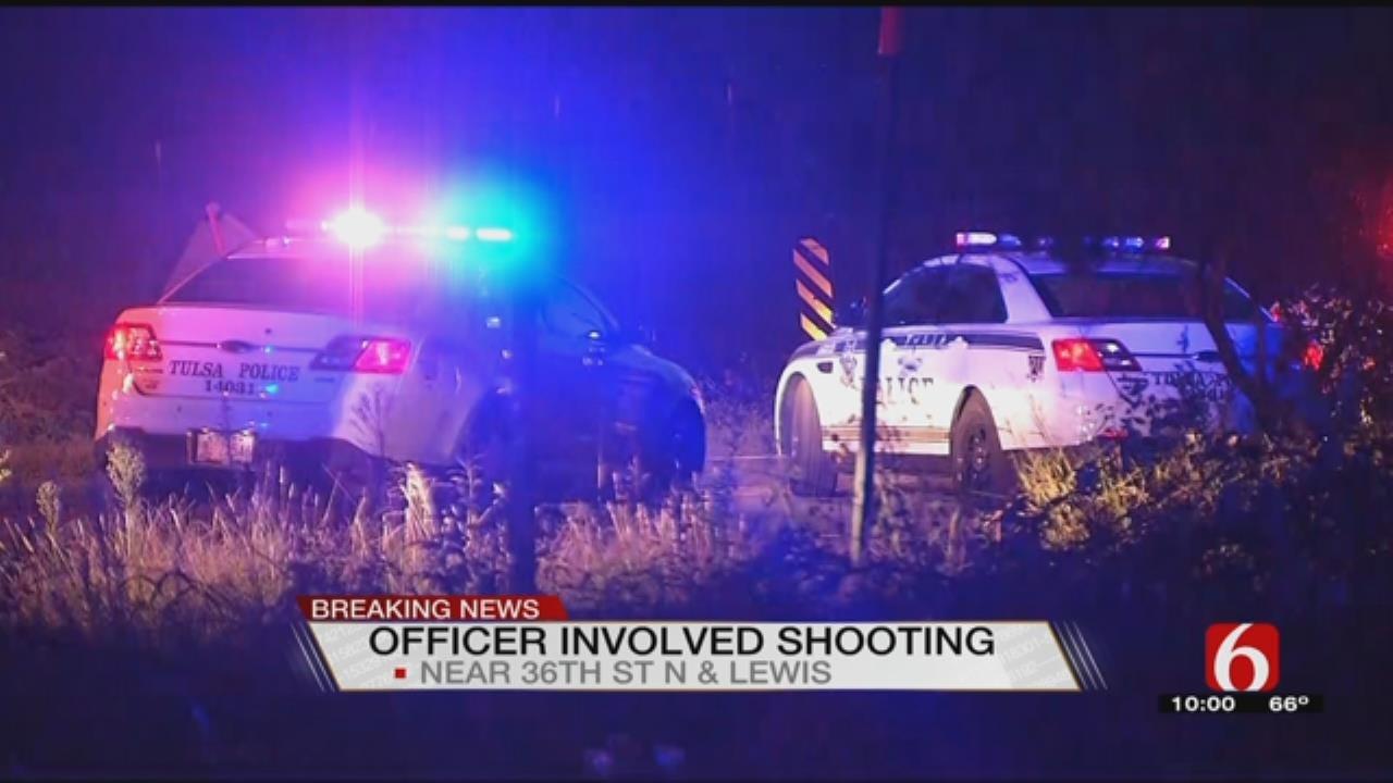 Tulsa Police Investigating Officer-Involved Shooting
