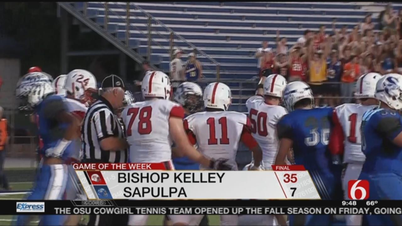 Game Of The Week: Bishop Kelley Beats Sapulpa In Week 3