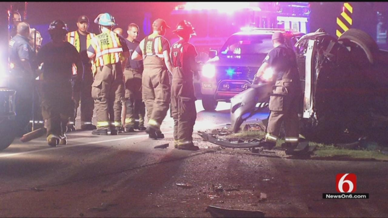 Woman Killed In Catoosa Rollover Wreck