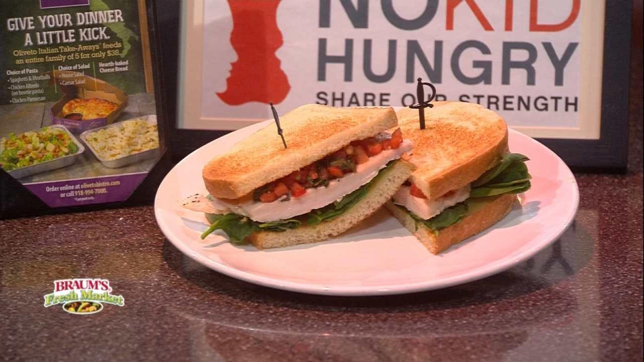 Oliveto Chicken Bruschetta Sandwich
