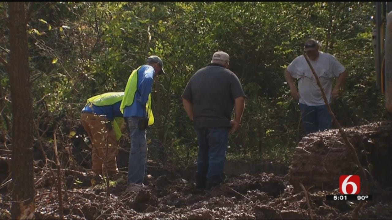 Okmulgee Water Line Break Poses Challenges For Businesses, City