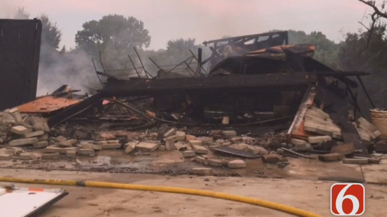 Joseph Holloway: Daytime View Of 81st & Yale House Fire