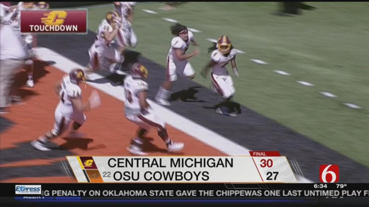 Central Michigan Stuns OSU With Crazy Final Play