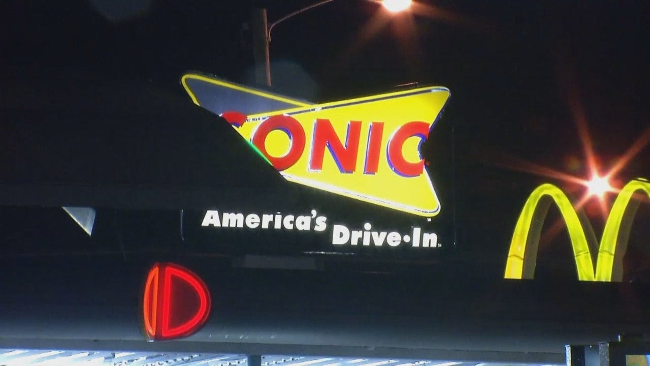 WEB EXTRA: Video From The Scene Of A Tulsa Sonic Drive-In Robbery