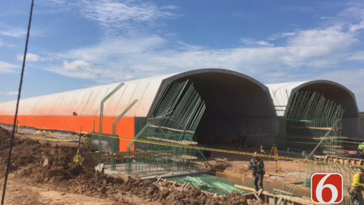 Emory Bryan: Tunnels To Gathering Place Taking Shape