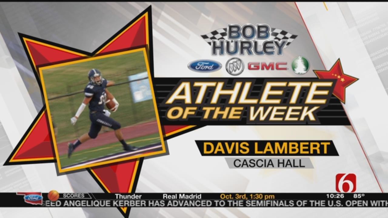 Week 1 Athlete Of The Week: Cascia Hall's Davis Lambert